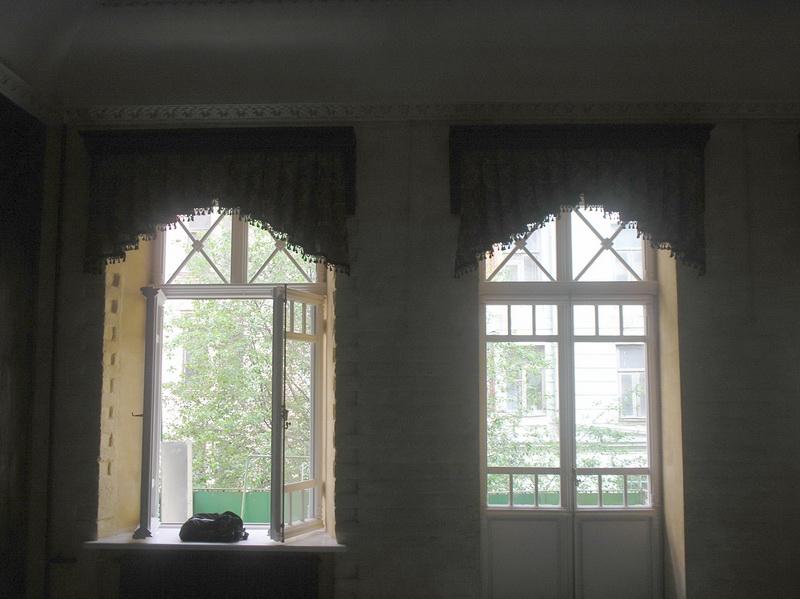 окан с декоративными накладками штрусы