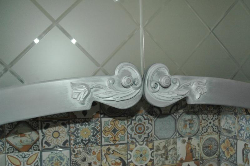 кухонный фасад с резьбой